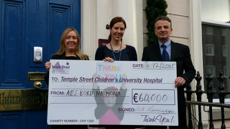 IN 2015, we raised €60,000 for Temple Street Children's University Hospital thanks to you, our customers.