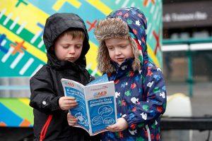 Children enjoying Family Day at Punchestown