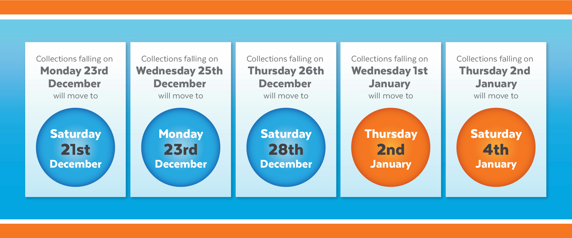 Christmas Collection Days 2019 - AES